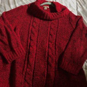 cowl neck CJ Banks sweater